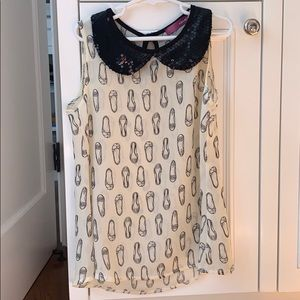 Kids aqua blouse